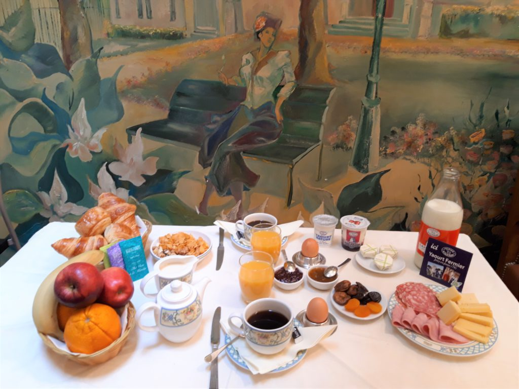 Petit déjeuner artisanal de l'Hôtel du Levant